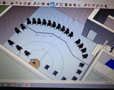 Planung und Rohbau Probelokal 2014