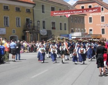 Bezirksmusikfest Steinach 2011
